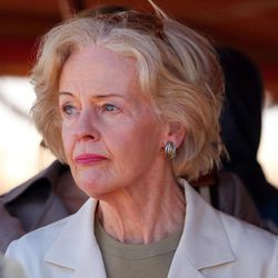 Quentin Bryce, the Australian Governor-General tours the Zaatari Syrian Refugee Camp, in Mafraq, Jordan, Sunday, Sept. 2, 2012. Bryce told the press that Australia has contributed 20 million in funds to support the refugees.