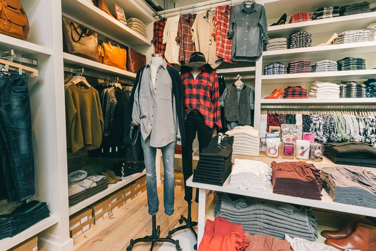 The Madewell store in Williamsburg