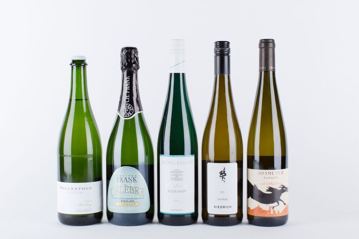 These dry Rieslings are what's up.