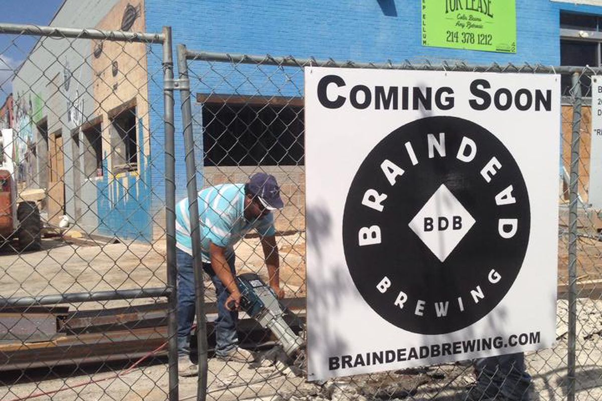 Braindead Brewing is almost ready to roll.