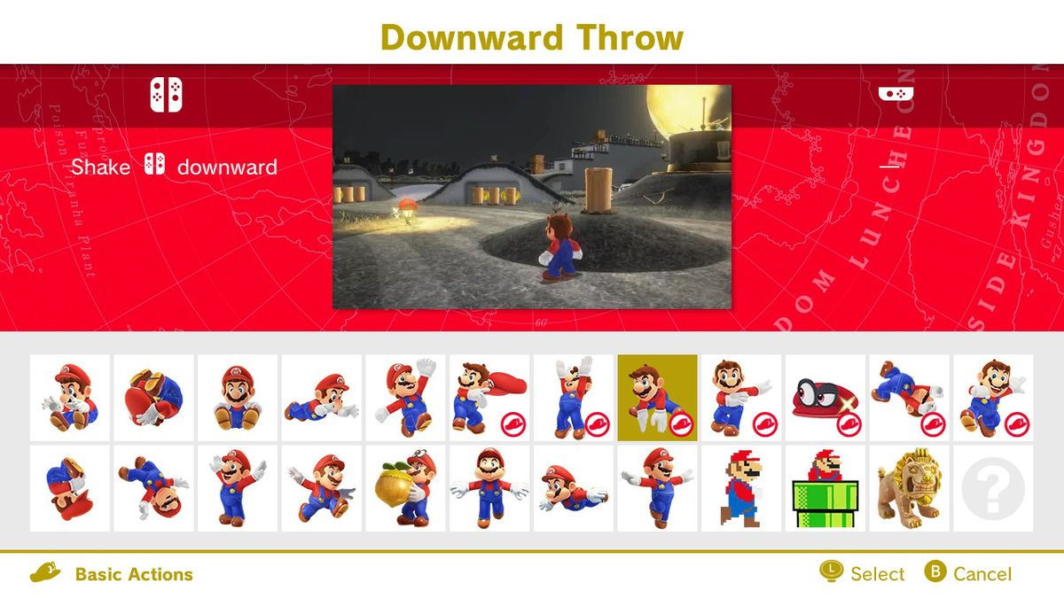 The Downward Throw