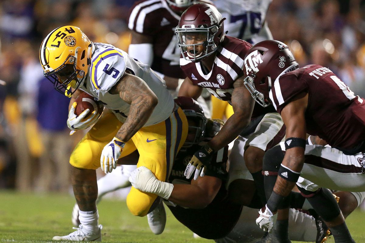 POST GAME THOUGHTS-LSU BEATS TEXAS A&M 45-21 - Good Bull ...