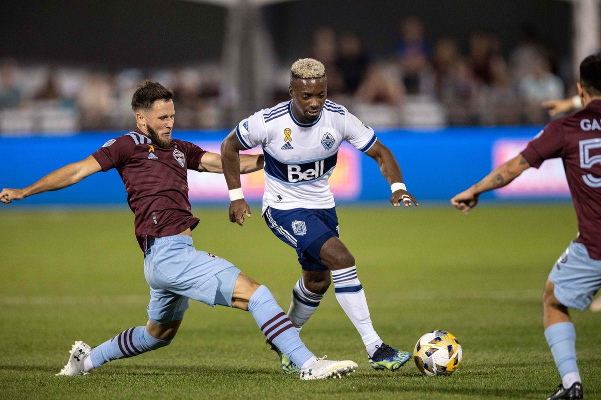 MLS: Vancouver Whitecaps FC at Colorado Rapids