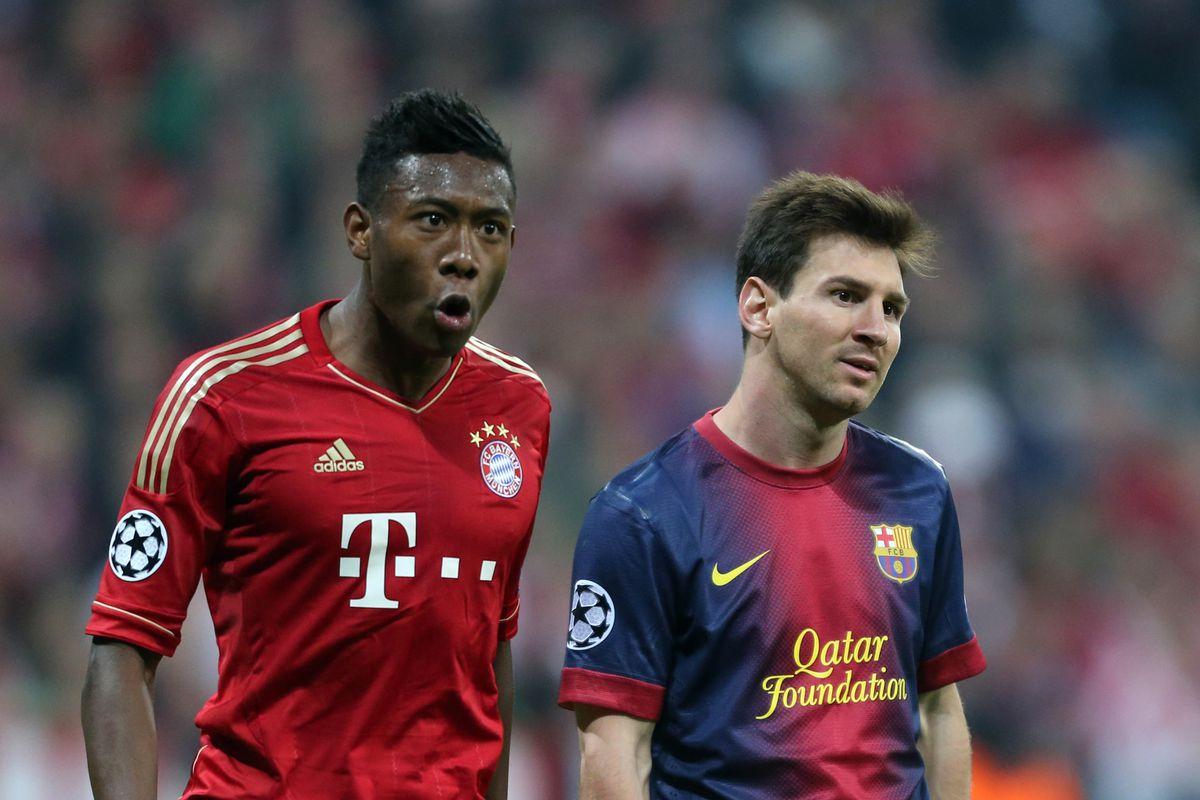 Soccer - UEFA Champions League Semifinal - Bayern Munich vs. Barcelona