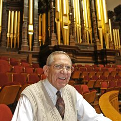 Mac Christensen, president of  the Mormon Tabernacle Choir.