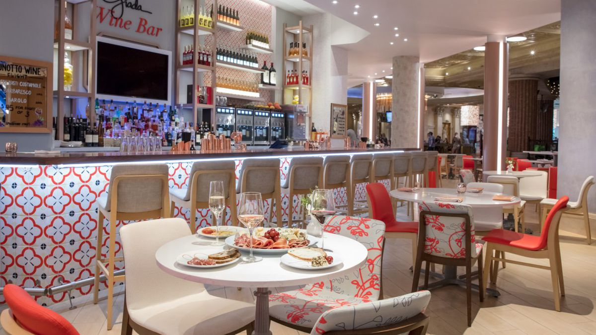 A restaurant from Giada De Laurentiis