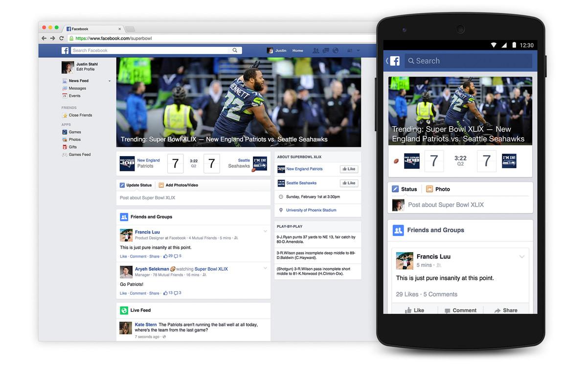 Facebook Super Bowl
