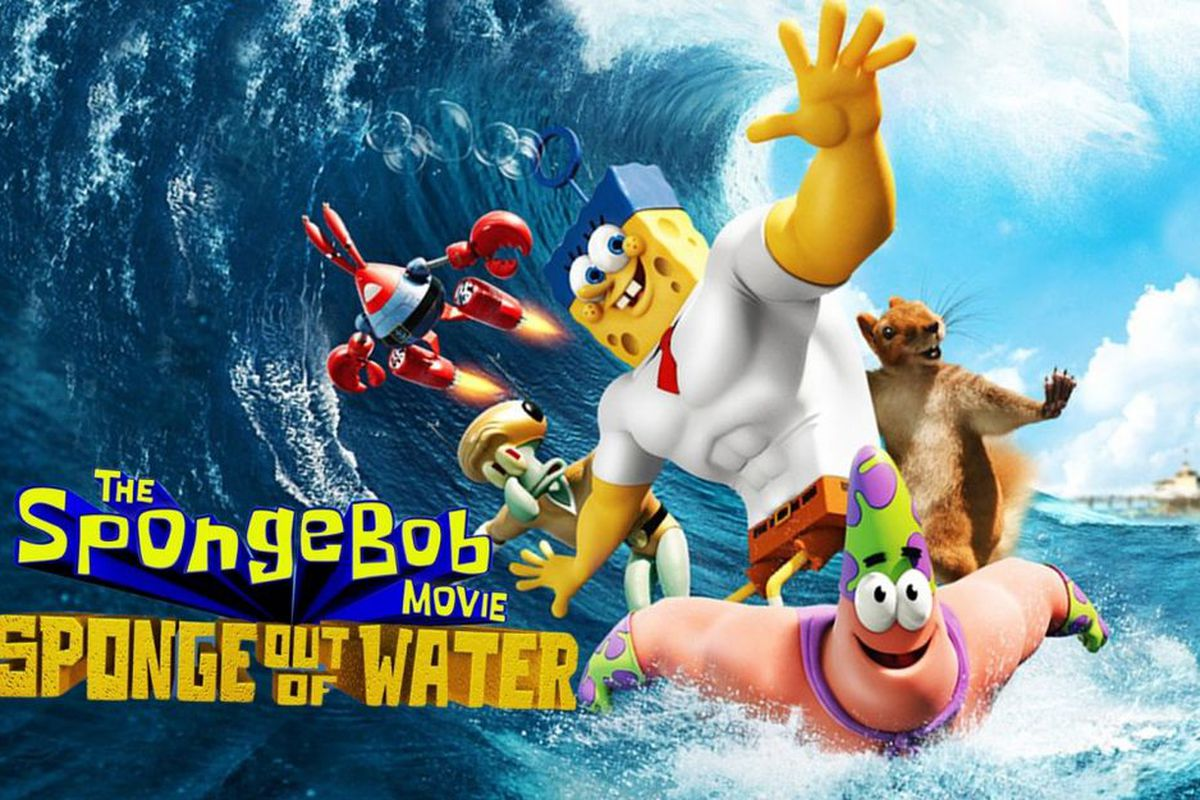 Spongebob Movie: A Sponge out of Water poster