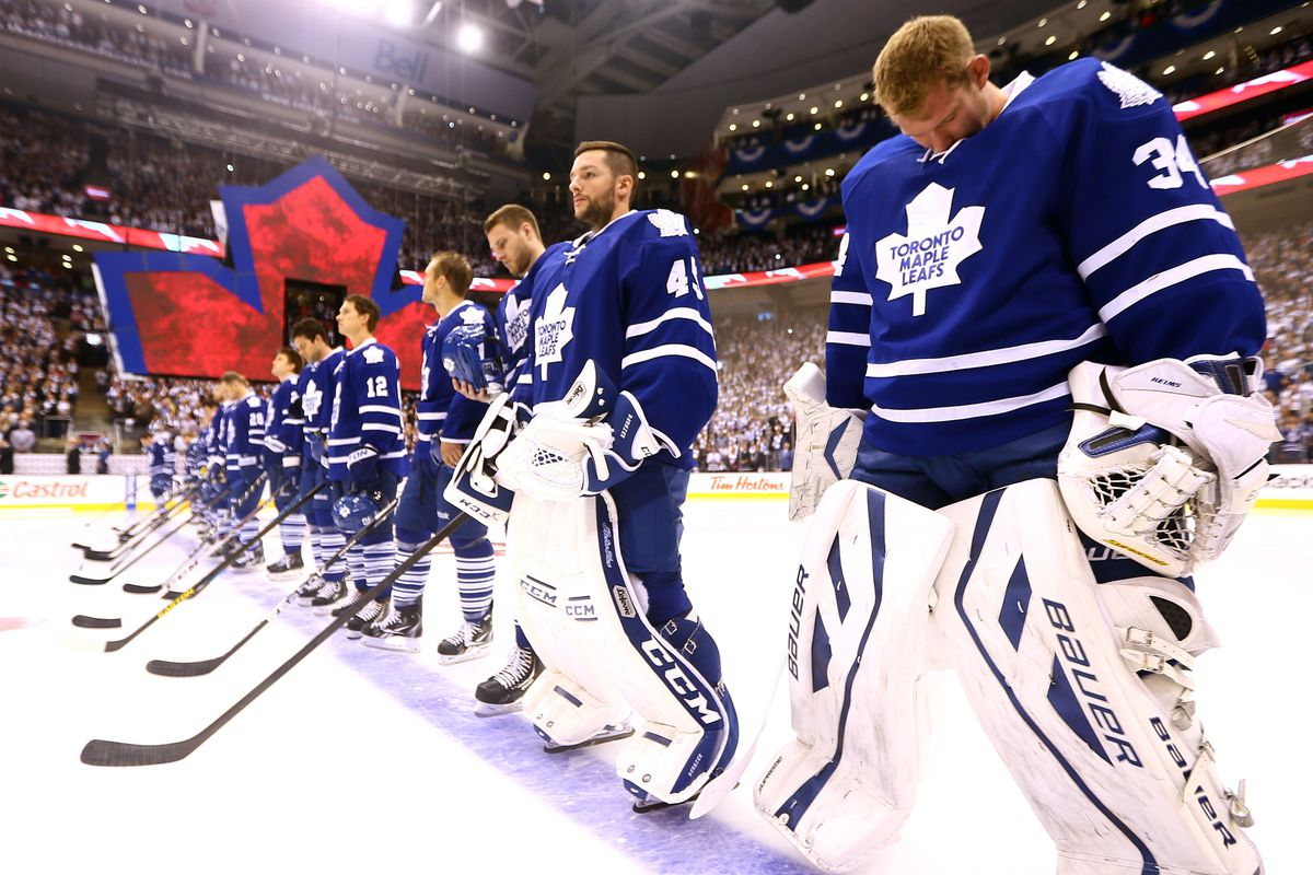 Here come the Maple Leafs...