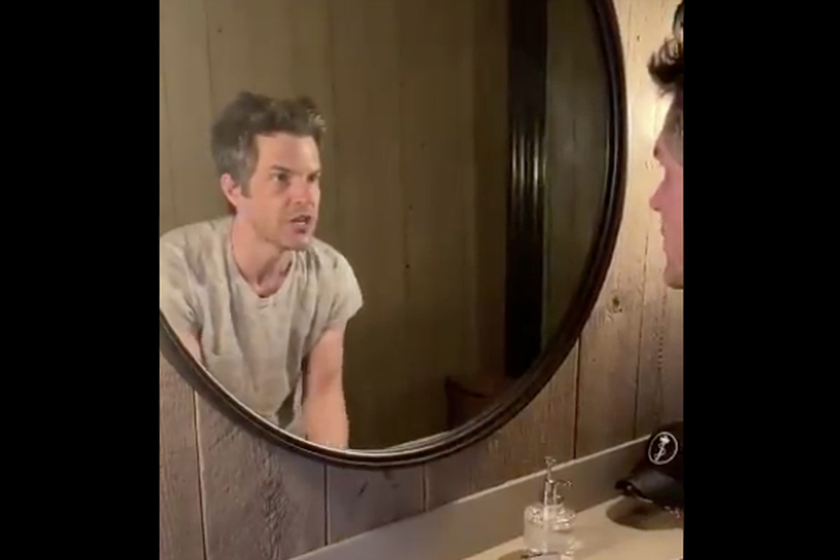 The Killers lead man shared a Twitter video where he is washing his hands.