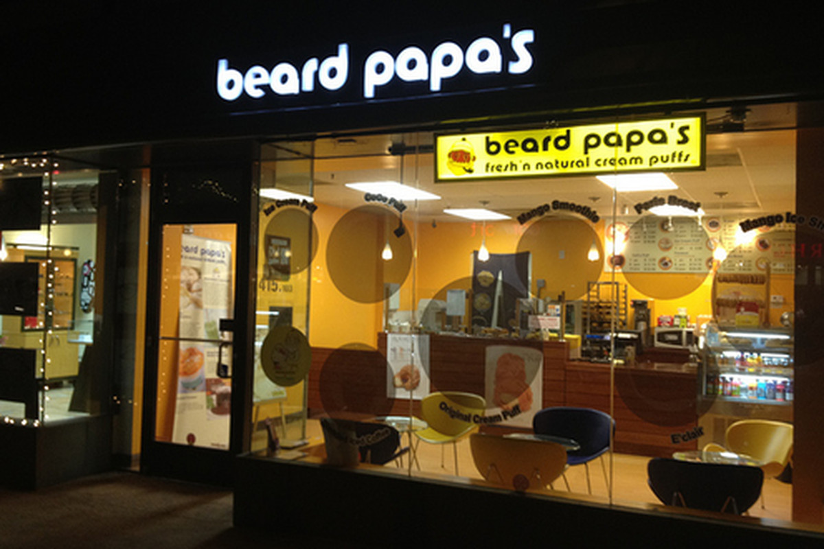 Beard Papa's, Pasadena.