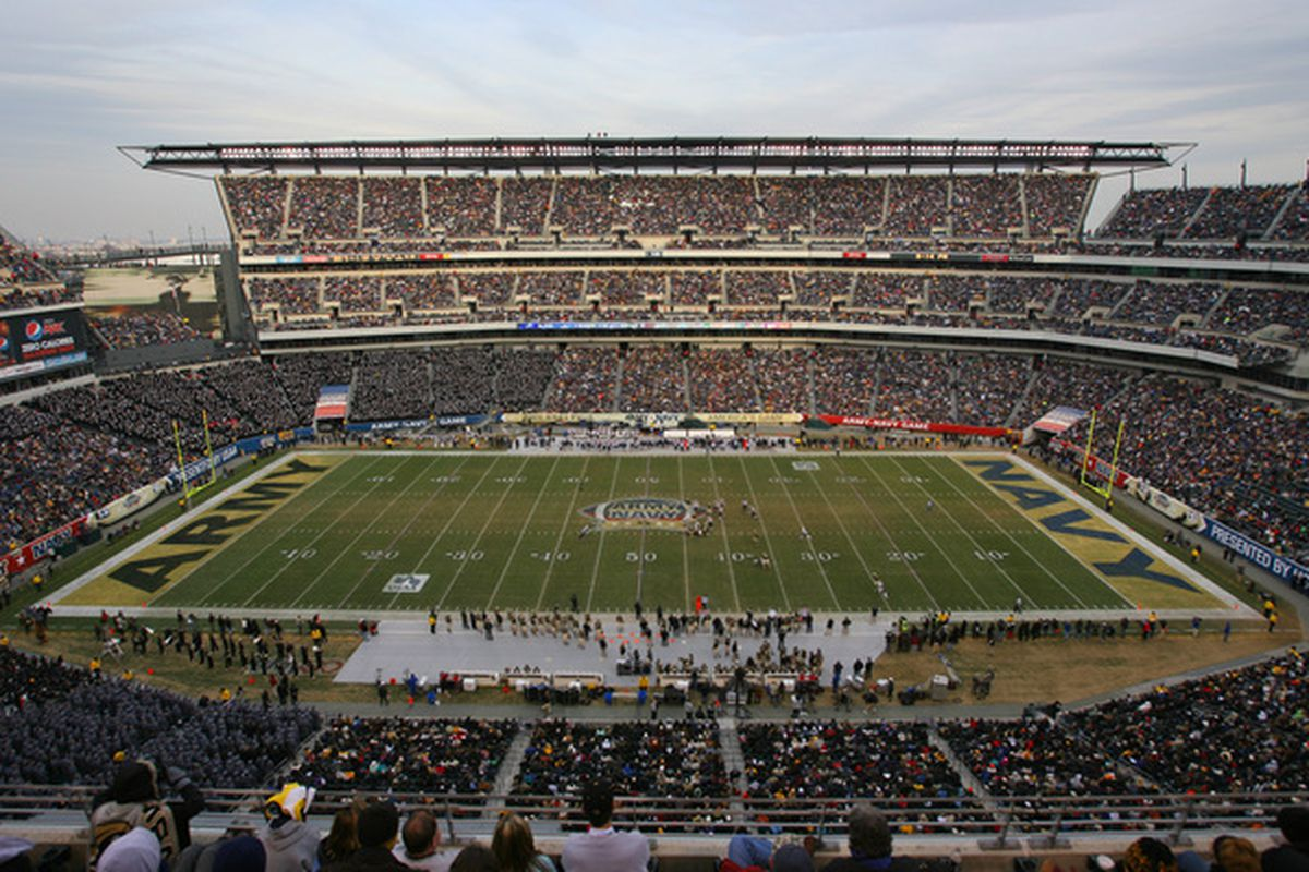 After the 2011 game was played at FedEx Field, Philadelphia will host the next two editions of the Army/Navy game