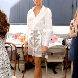 Zendaya in Manning Cartell at Glamour's Game Changers lunch.