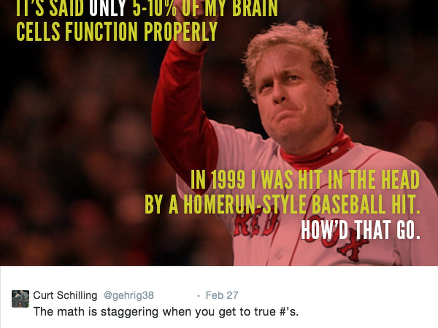 7 more tweets from curt schilling even dumber than his nazi muslim