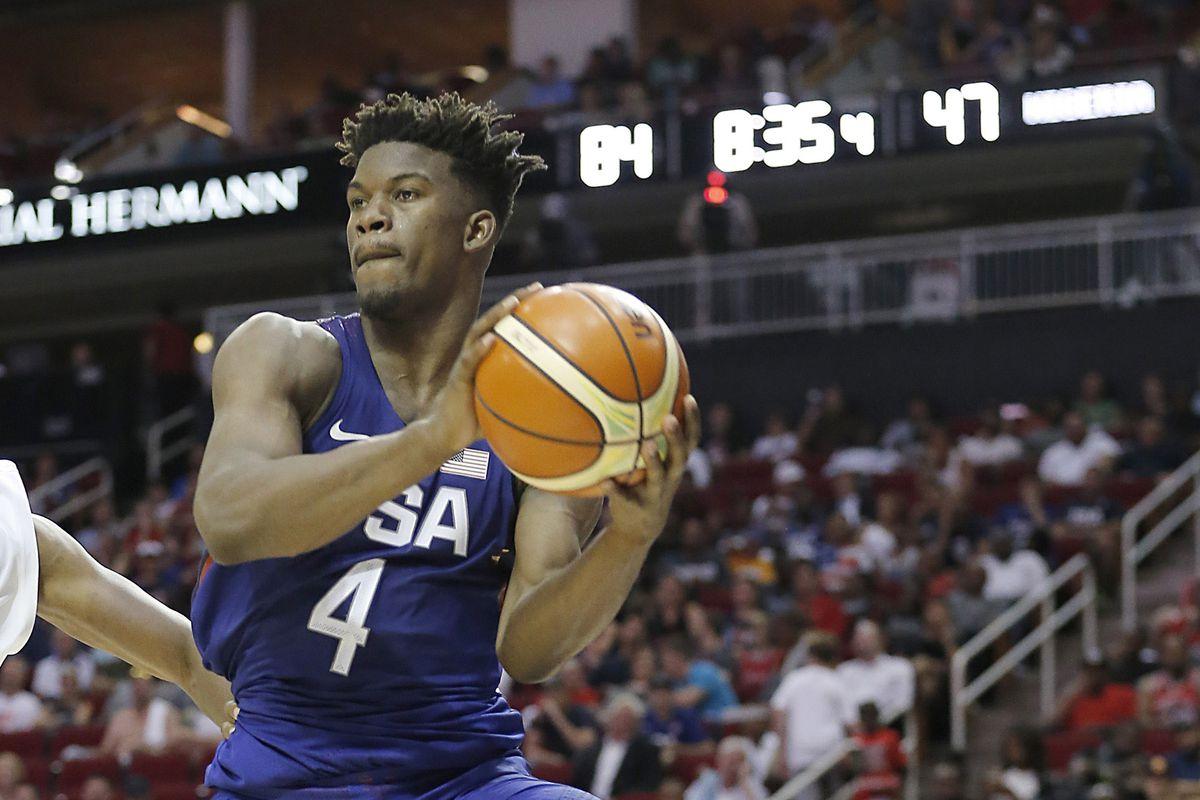 Basketball: USA Basketball Exhibition Game-Nigeria at USA
