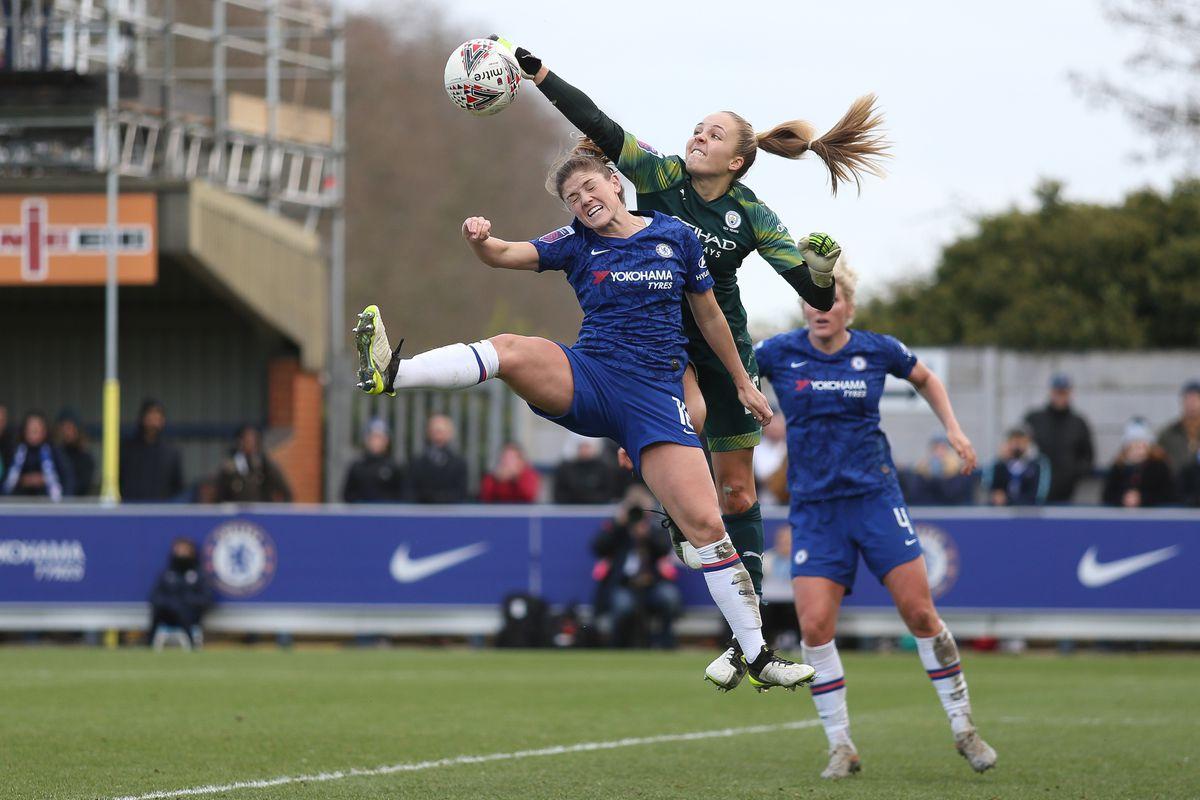 Chelsea v Manchester City - Barclays FA Women's Super League