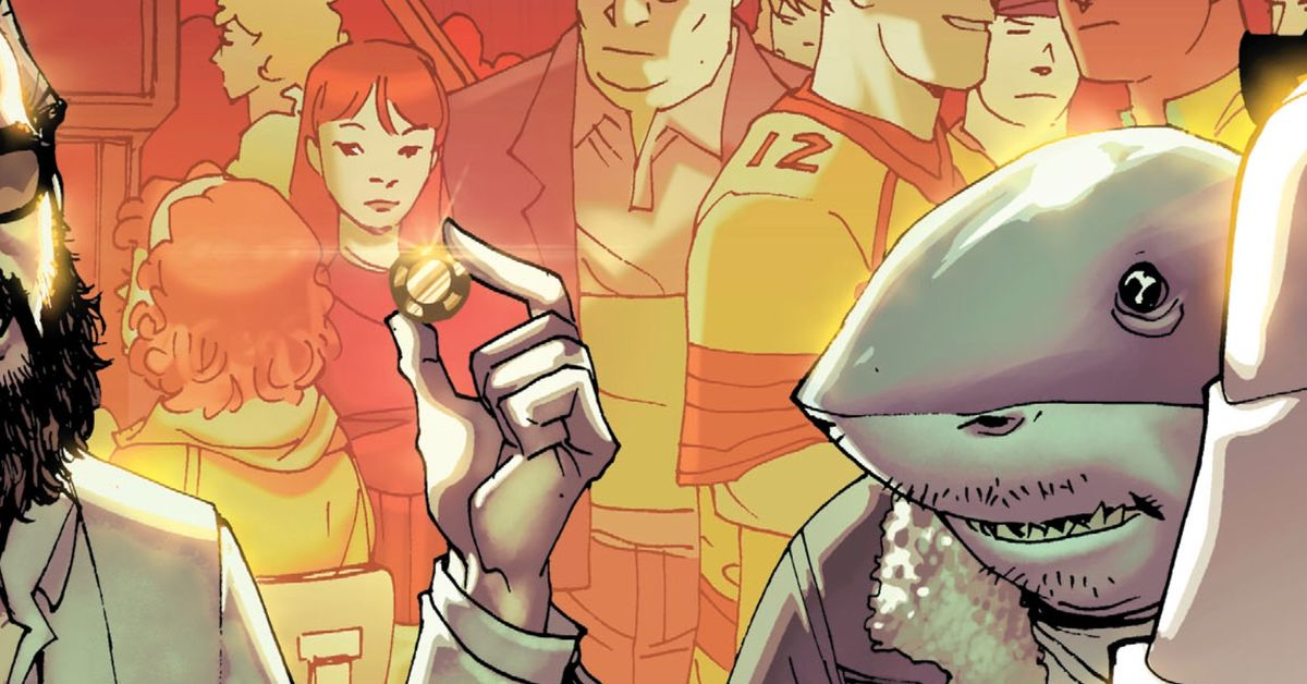 DC Comics? best new character is a sad, sympathetic shark-man
