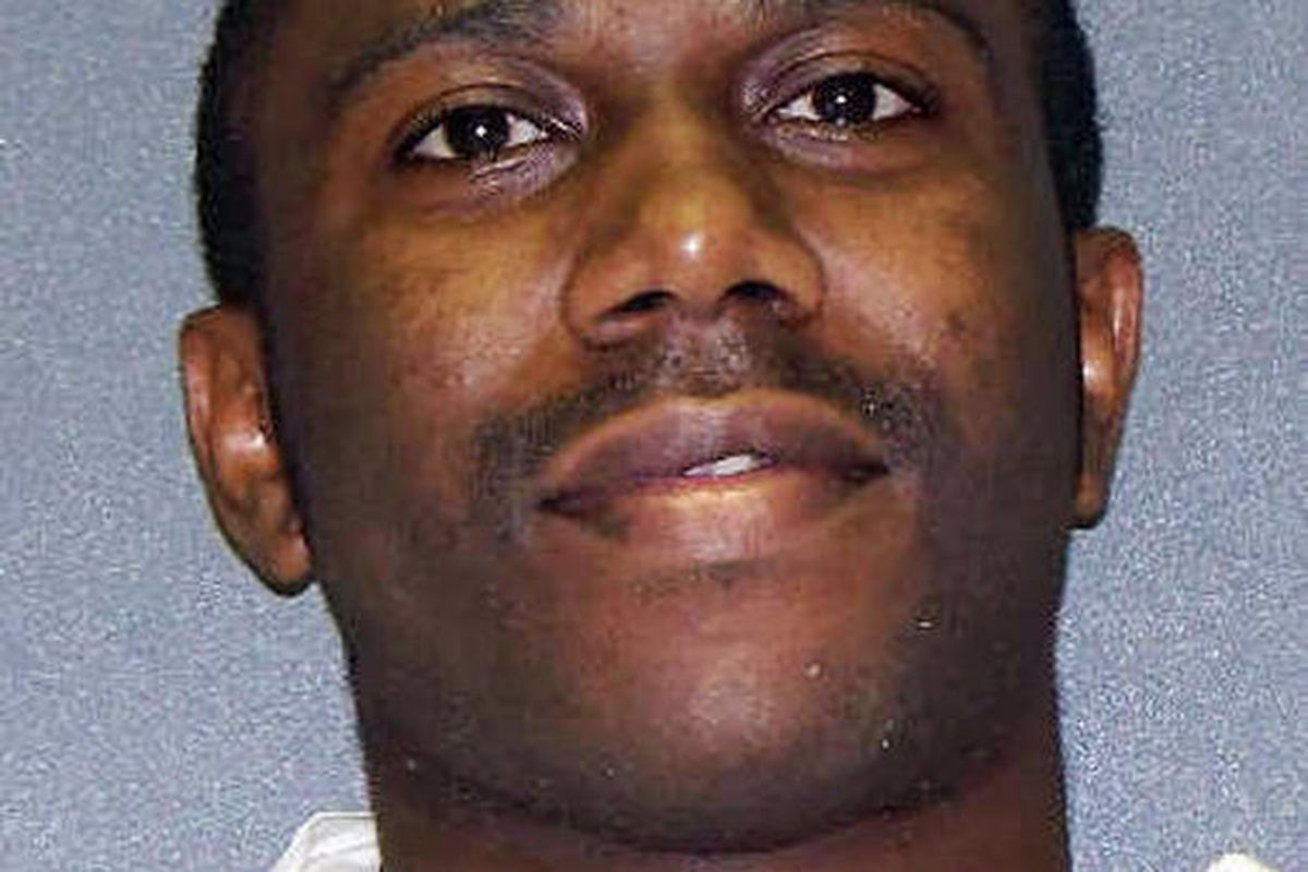 This photo provided by the Texas Department of Criminal Justice shows  Beunka Adams. The 5th U.S. Circuit Court of Appeals on Wednesday lifted a reprieve given to Adams, a death row inmate facing execution Thursday evening by lethal injection for a fatal