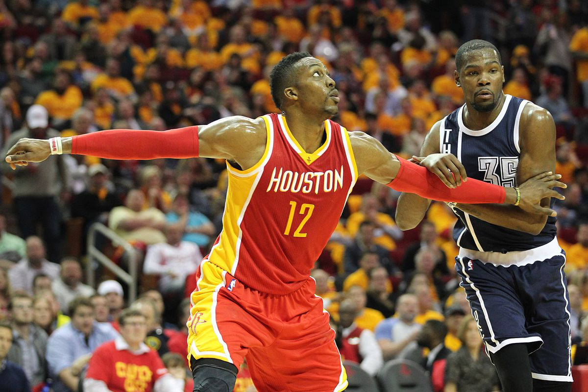 426068083 Rockets intend to re-sign Dwight Howard in the offseason and also chase Kevin  Durant
