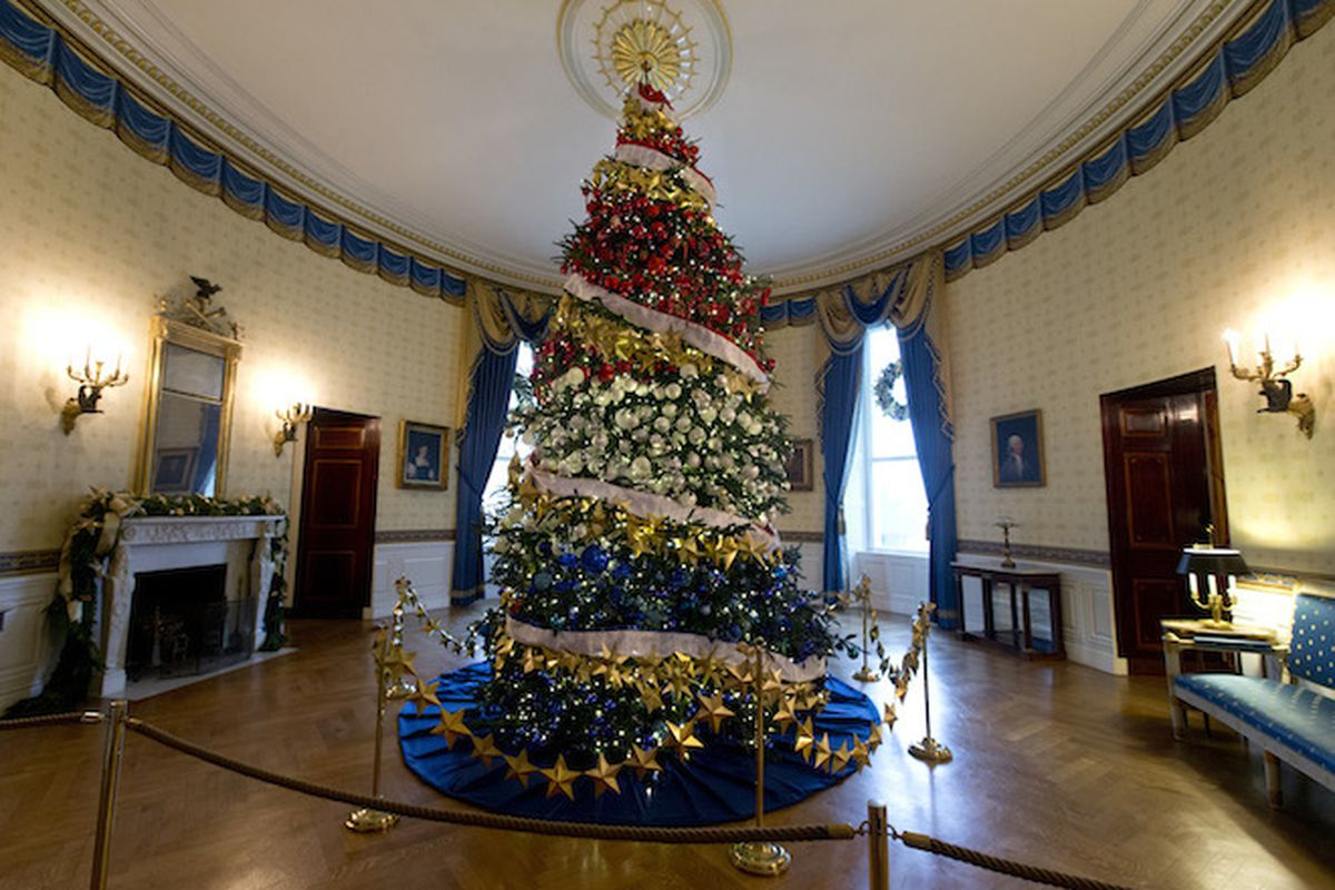 White House Holiday Decor 2015, In 14 Festive Photos