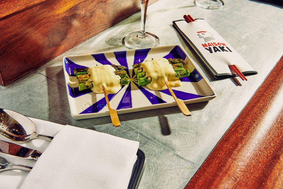 Asparagus with béarnaise