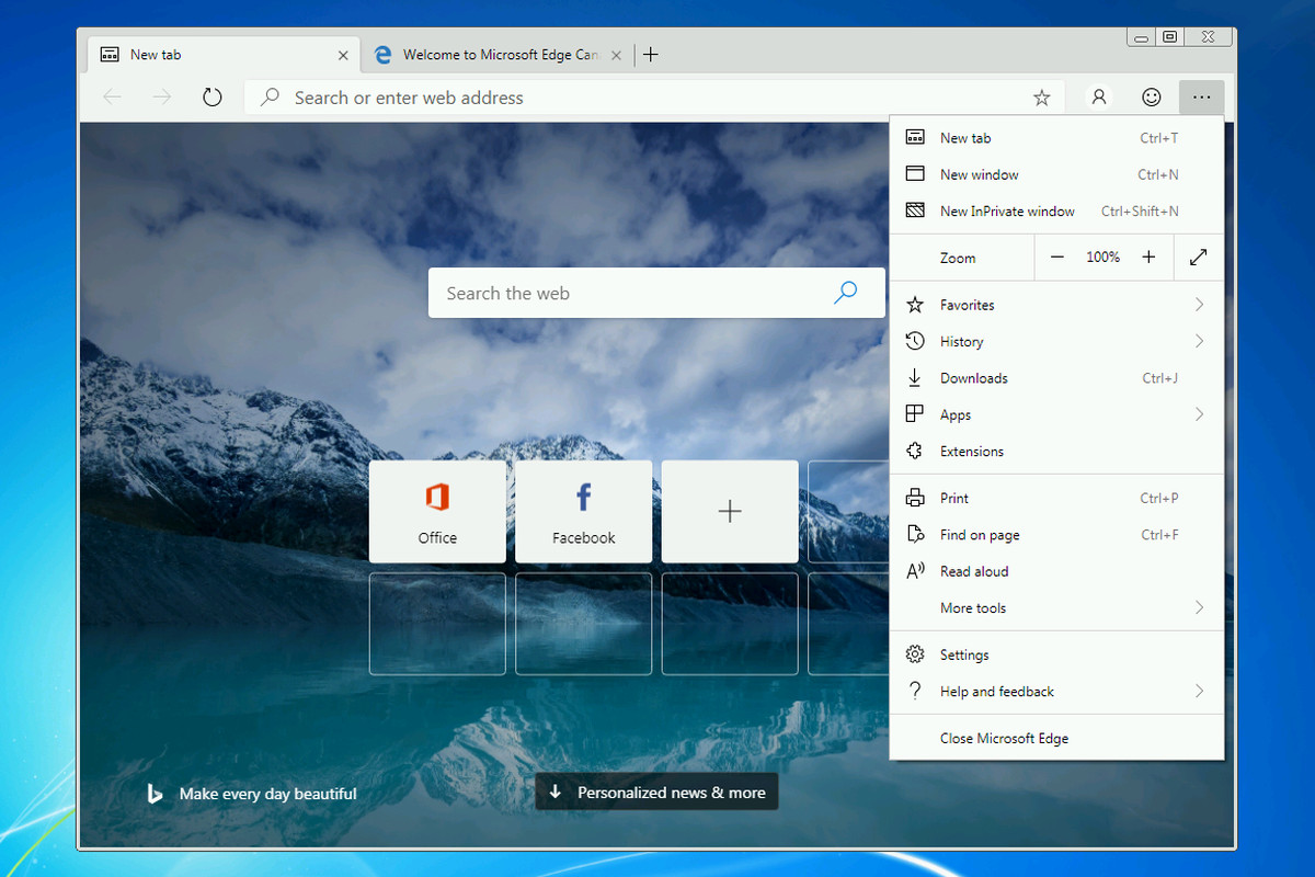 Microsoft's Chromium Edge browser now available on Windows 7