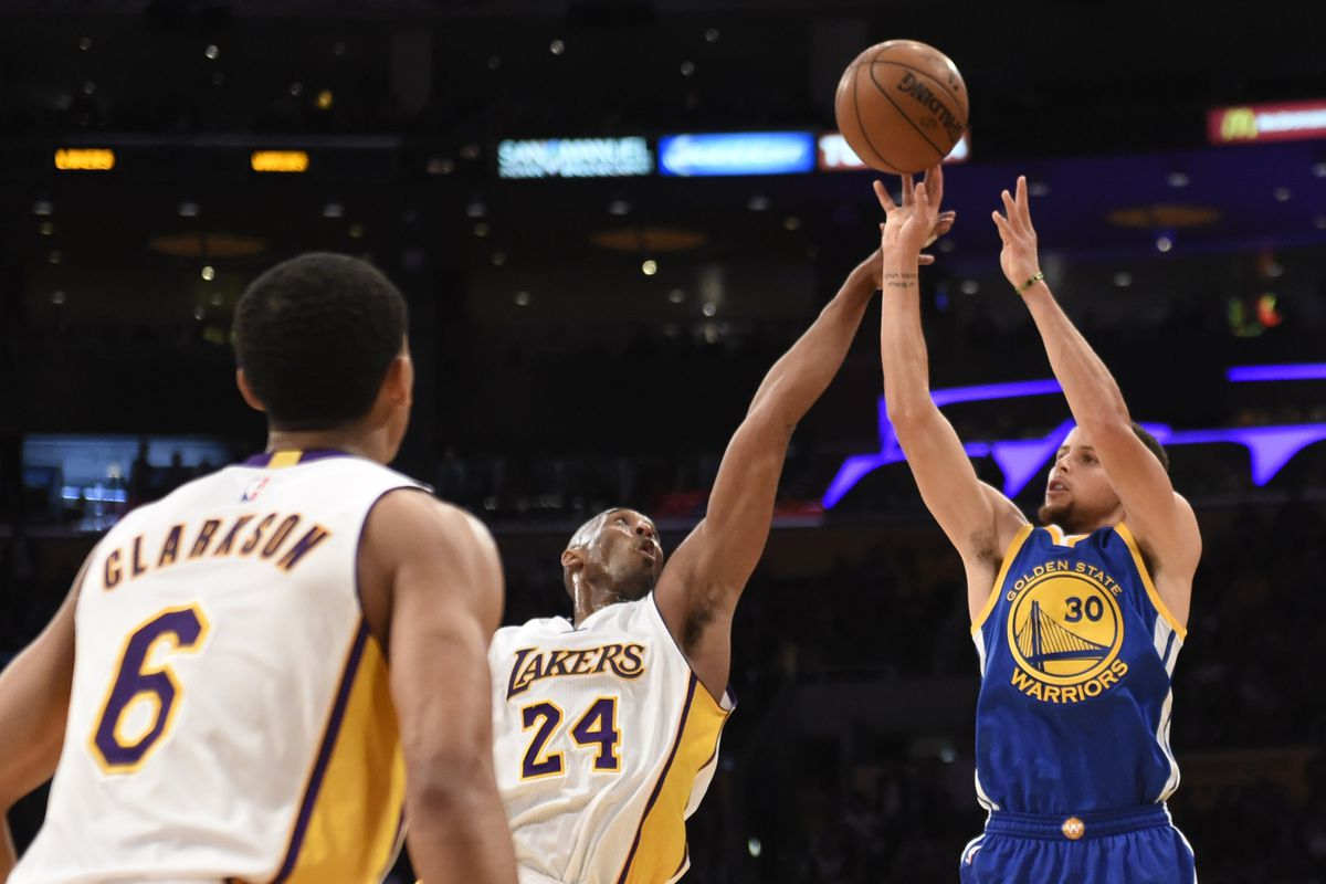 d66679c41b87 Stephen Curry makes mockery of all-time three-point list - Golden ...