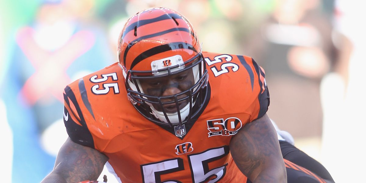72d73622 Vontazt Burfict has long been one of the most controversial and volatile  players in the NFL, with a reputation for being a 'dirty' player and for ...