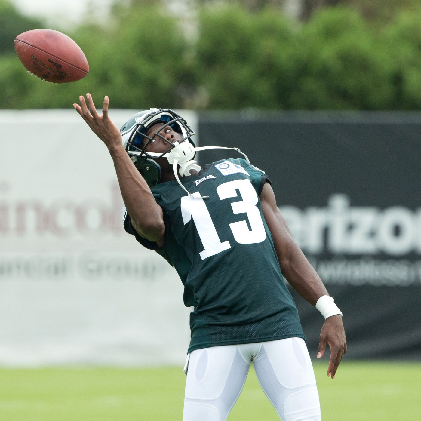 213e6b1c38f Eagles training camp practice notes: Nelson Agholor earns cheers while  having a strong day