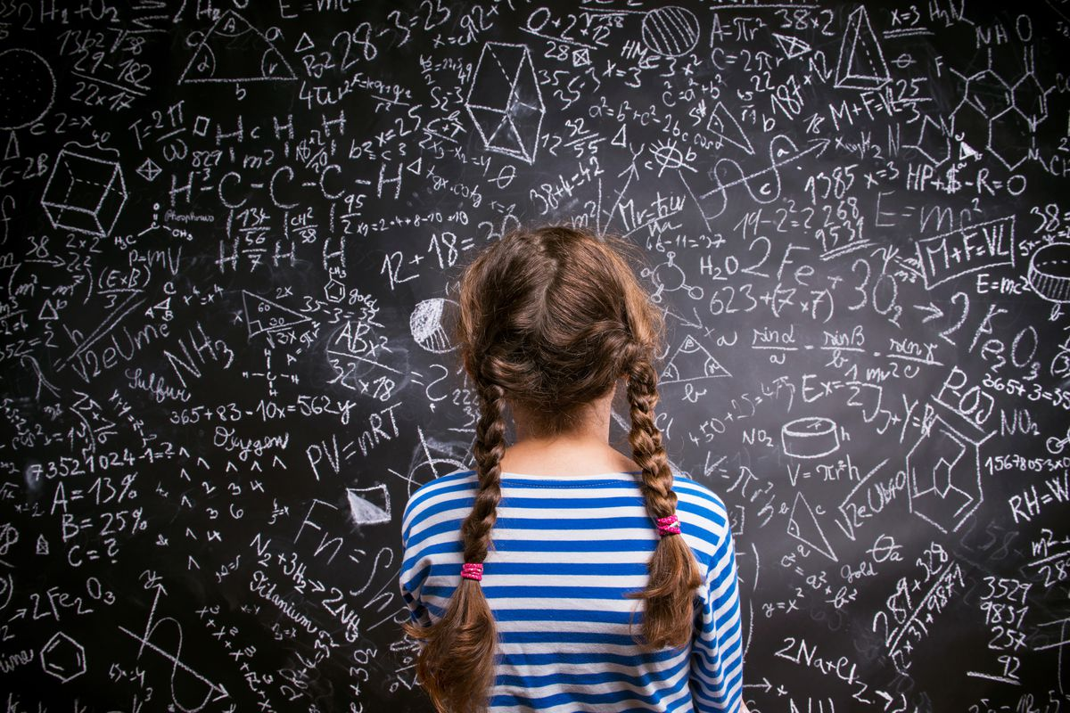 Erin Stewart shares how practice can help girls (and boys) discover a love of math.