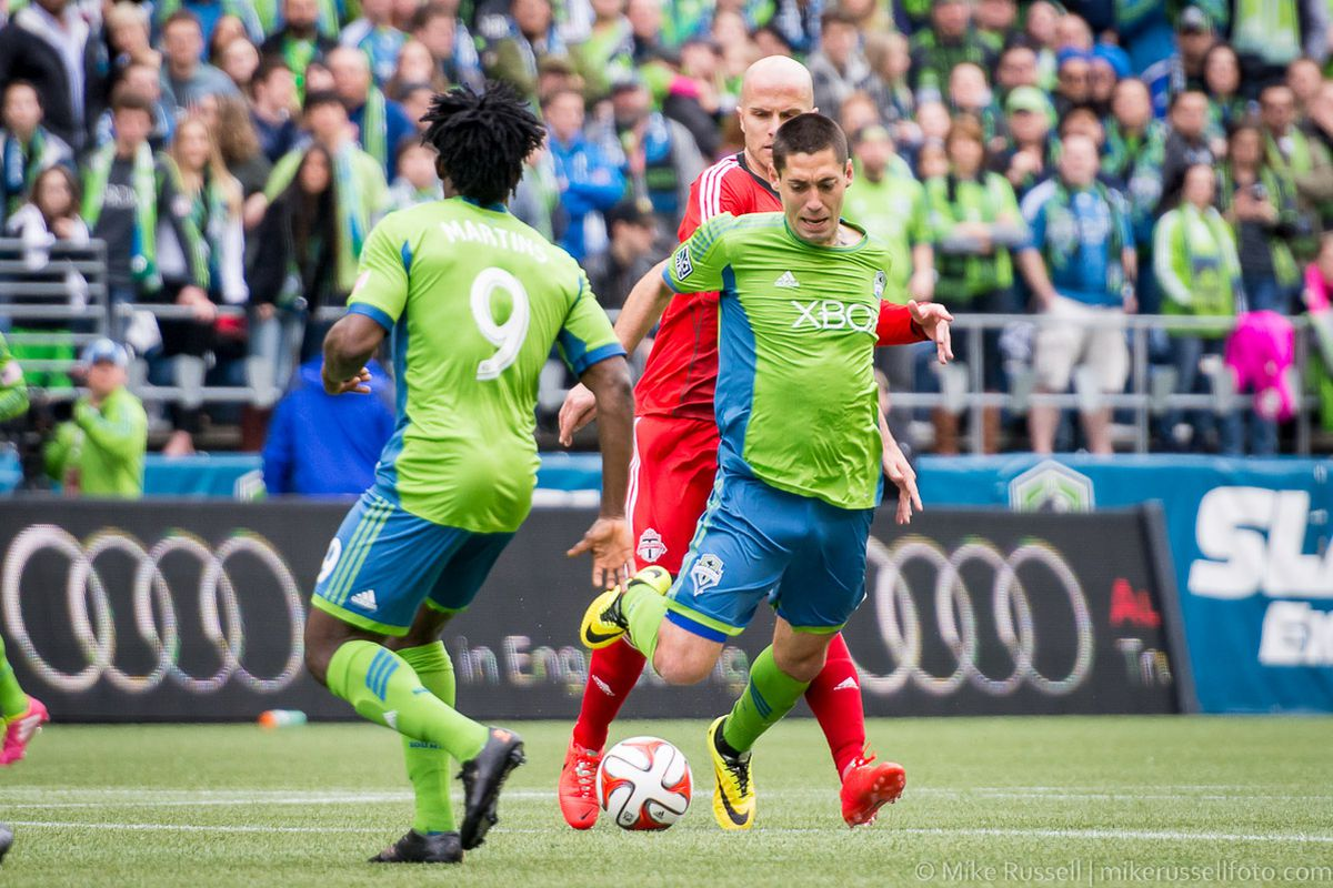 dd3574c4e Clint Dempsey was fouled six times against Toronto FC. Mike Russell Sounder  at Heart