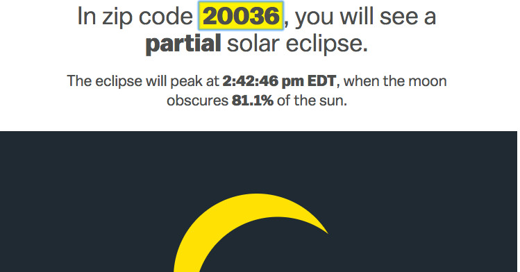 A solar eclipse is coming to America. Here's what you'll see where