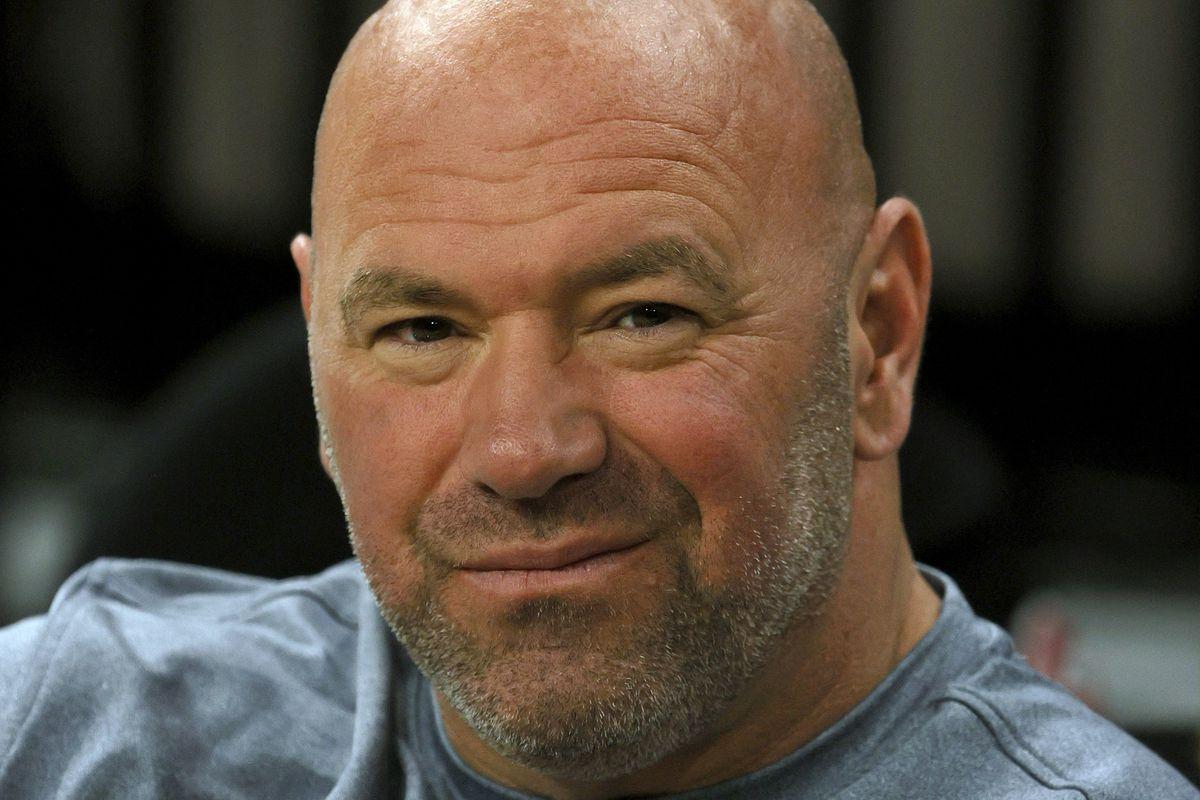 Phoenix Mercury v Las Vegas Aces - Game Two - UFC's Dana White.