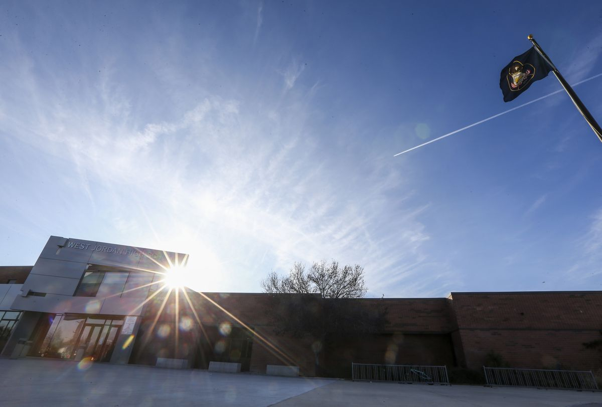 West Jordan High School in West Jordan is pictured on Monday, Nov. 4, 2019.