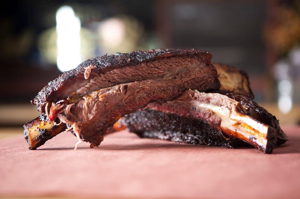 Ribs from It's All Good BBQ