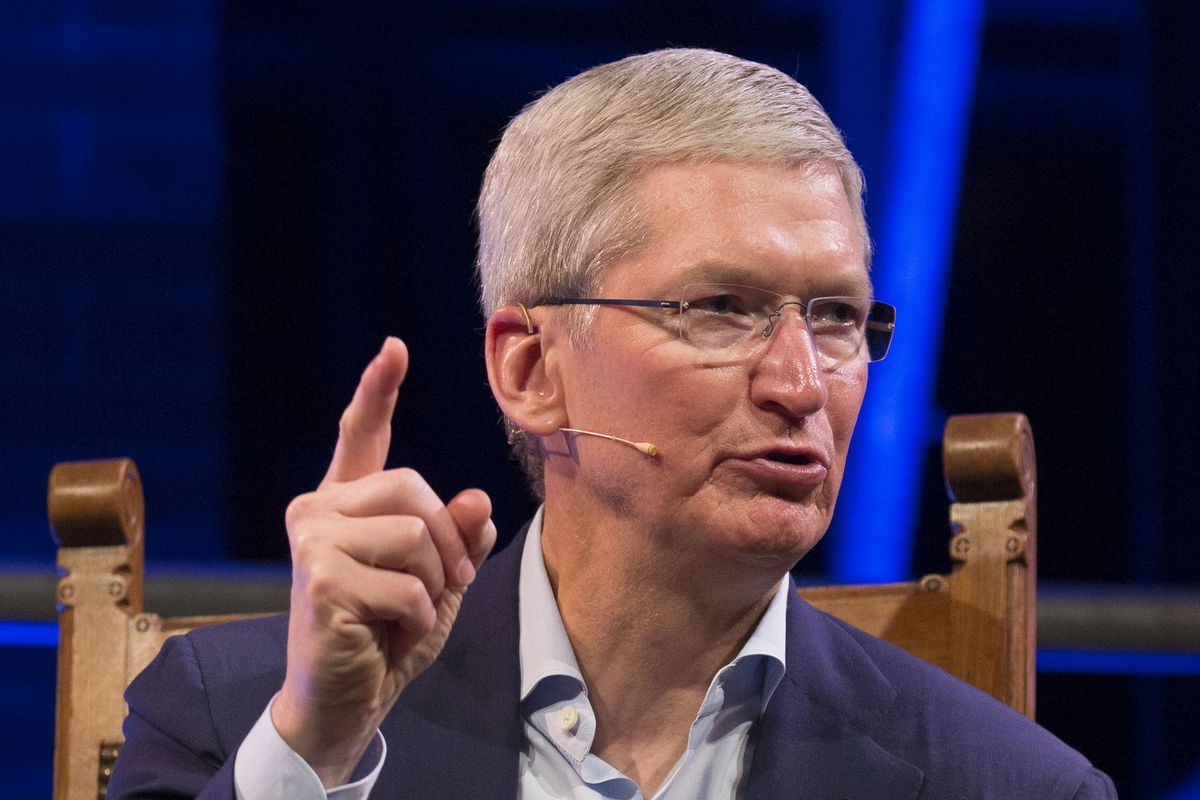 Thrilled by the response apple ceo tim cook said in a tweet that it - Michel Porro Getty