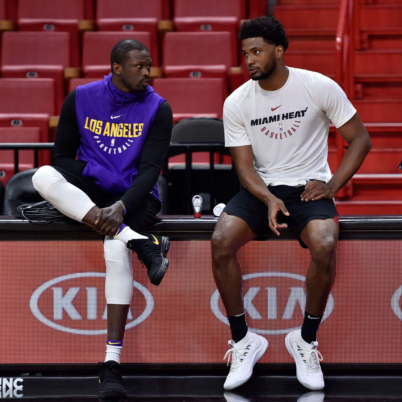 NBA Rumors  Lakers  don t have an immediate plan  to use the roster spot  created by stretching Luol Deng 817d5c160