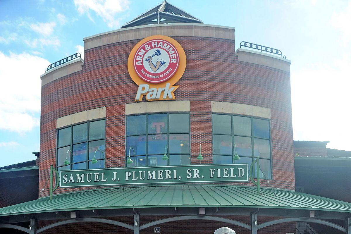 2016 Trenton Thunder World Famous Case's Pork Roll Eating Championship