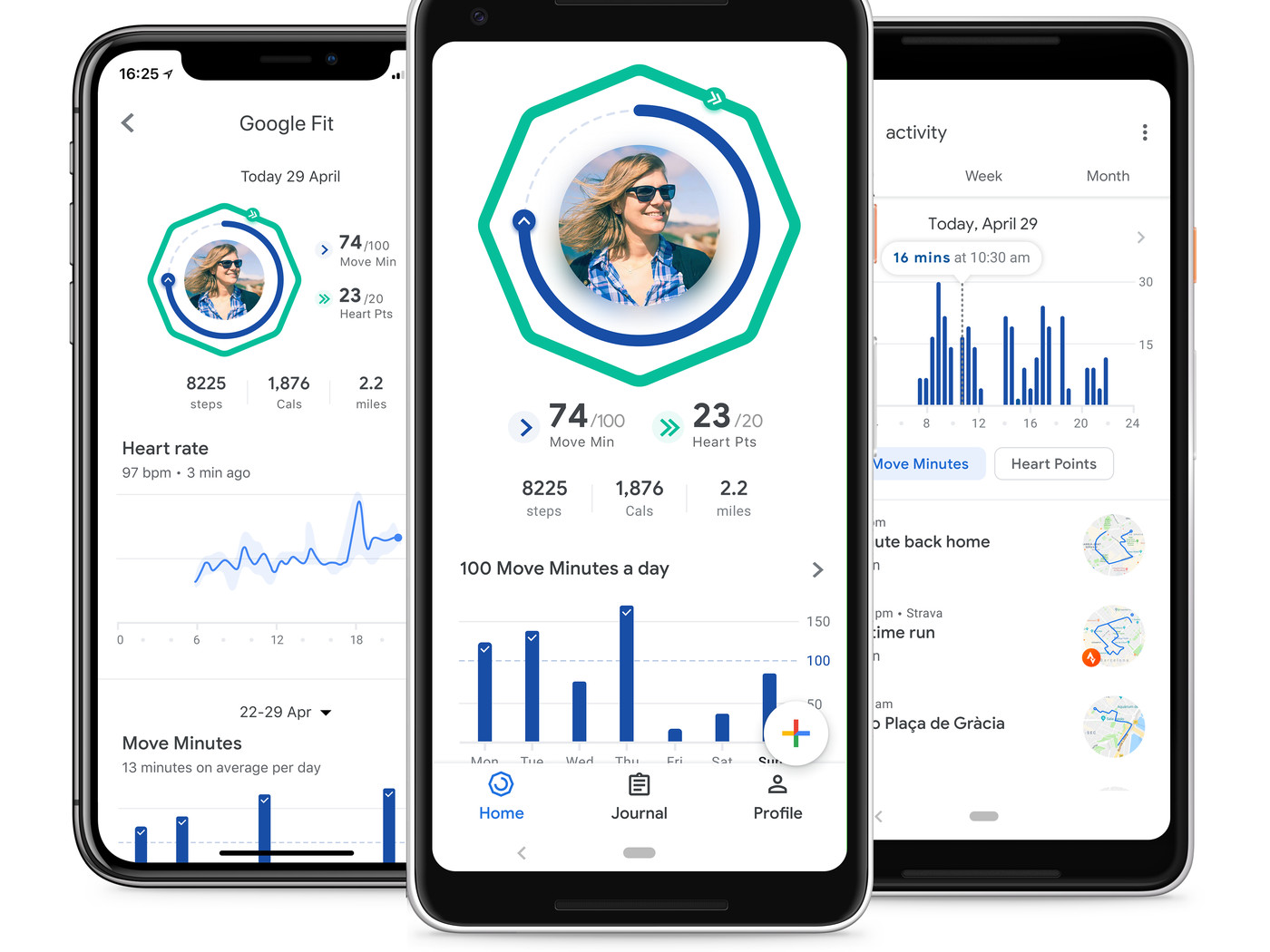 Google Fit is getting redesigned with new health-tracking