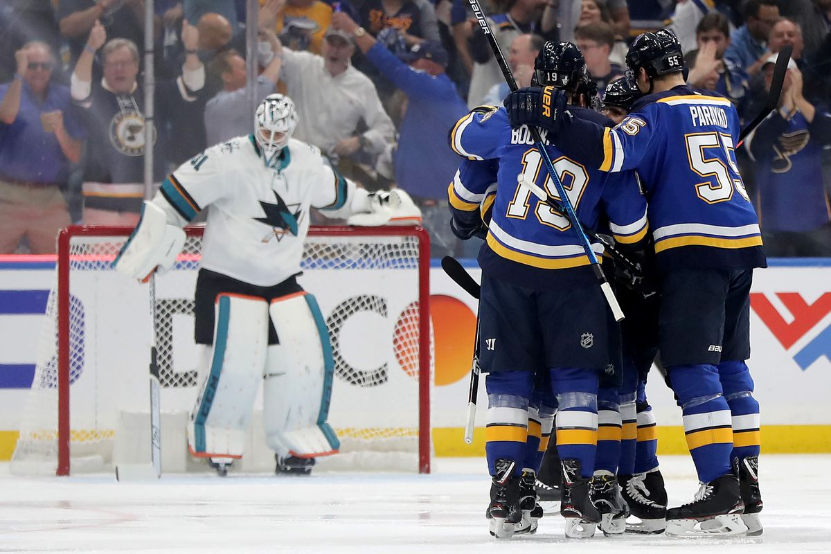 San Jose Sharks v St Louis Blues - Game Four