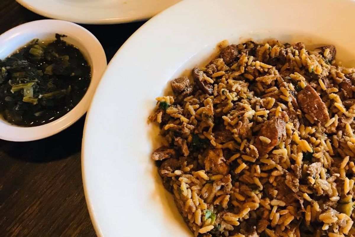 The Texas Comfort Food Care Package meal from Cypress Grill