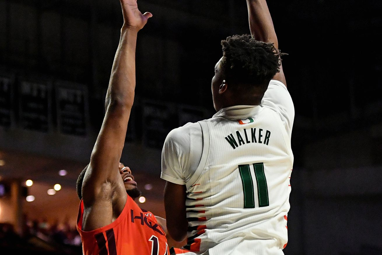 NCAA Basketball: Virginia Tech at Miami-Florida