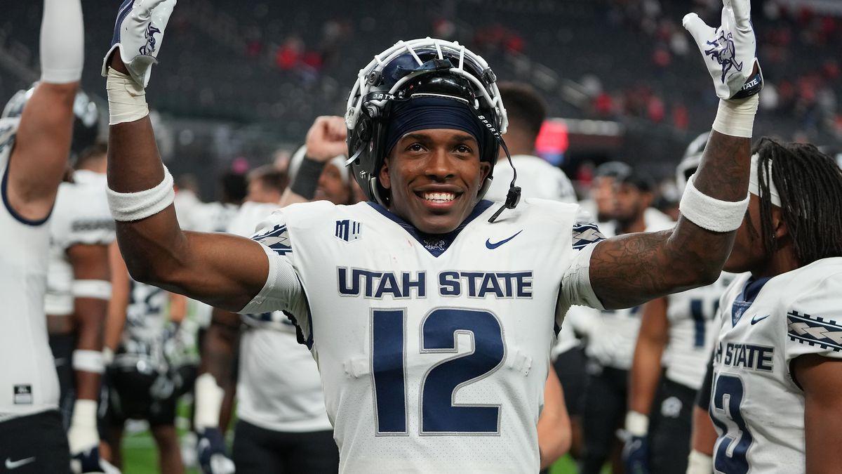 NCAA Football: Utah State at UNLV
