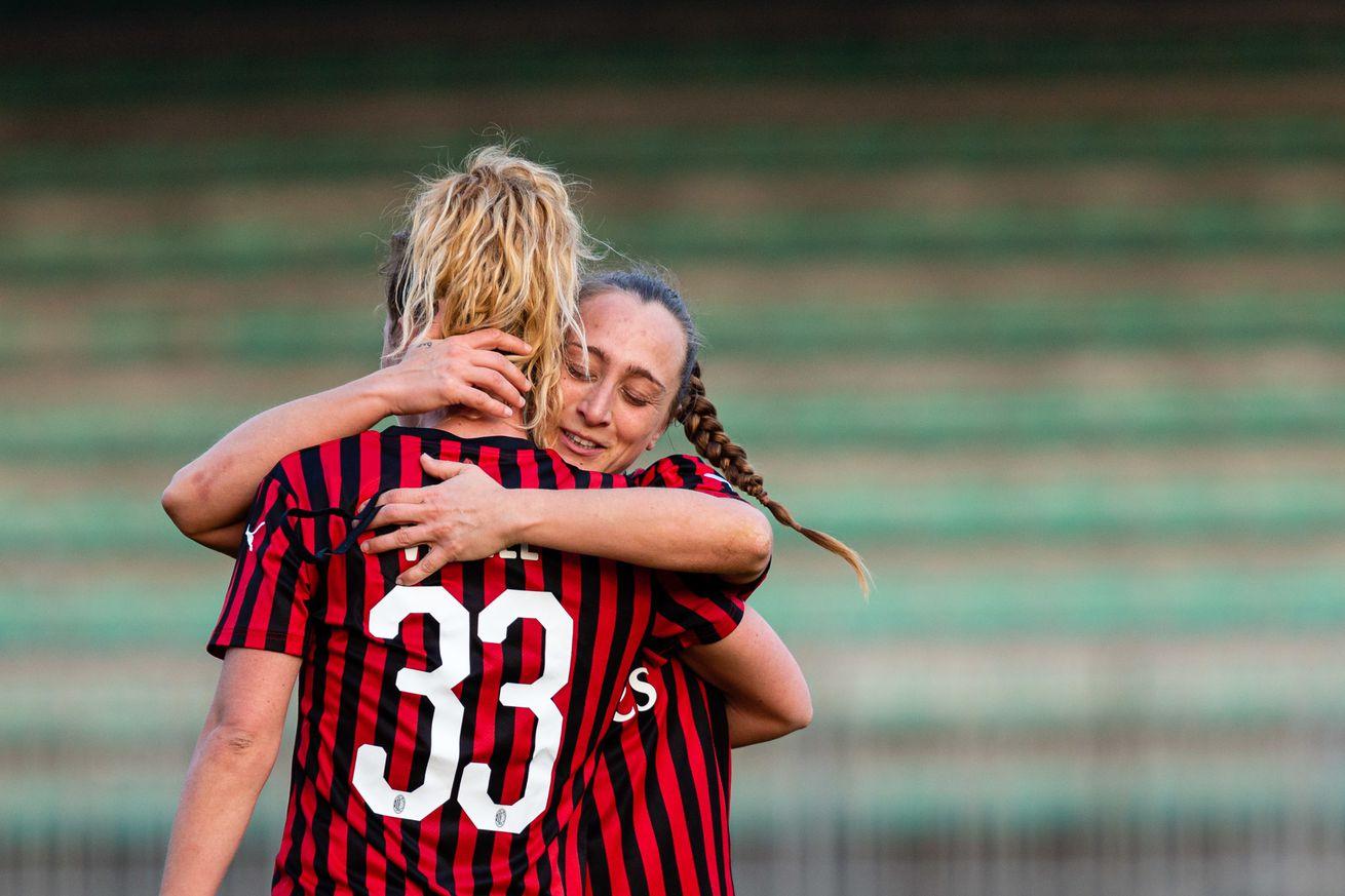 Francesca Vitale, Dominika ?on?, Deborah Salvatori Rinaldi and others sign renewals with AC Milan