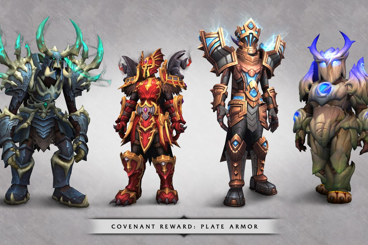 World Of Warcraft S Shadowlands Is Just The First Step In New Character Customization Polygon They were introduced with the battle for azeroth expansion. new character customization