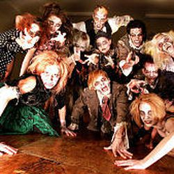 """Zombies en masse from Odyssey Dance Theatre's """"Thriller,"""" an annual Halloween-themed production running through Oct. 30."""