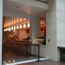 The Hot Shoppes-inspired counter at Anthem.