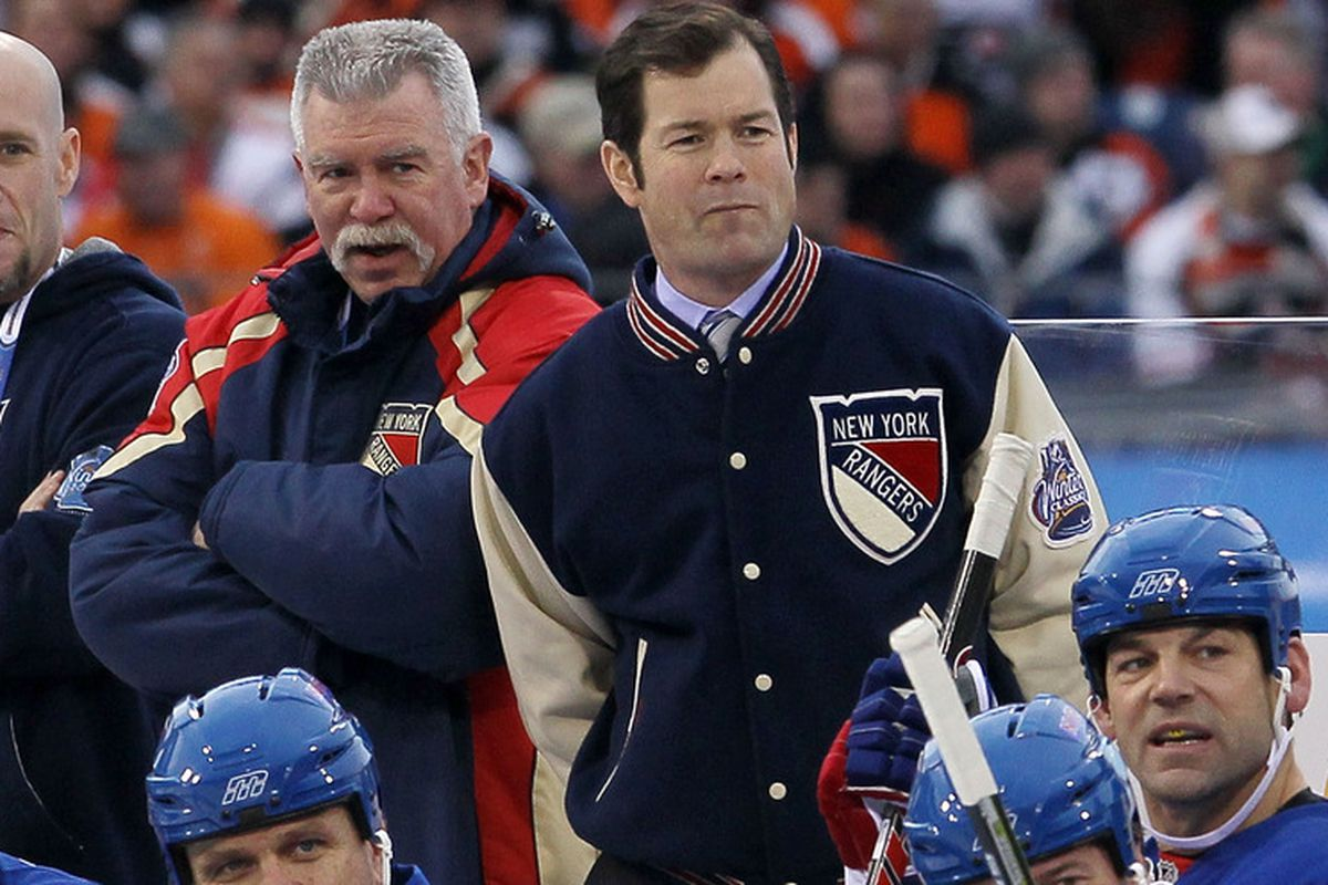 Mike Richter at the 2012 NHL Winter Classic