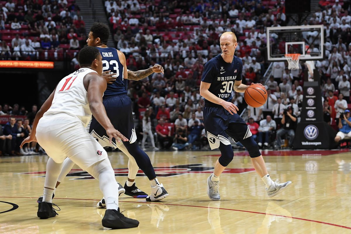 COLLEGE BASKETBALL: DEC 22 BYU at San Diego State