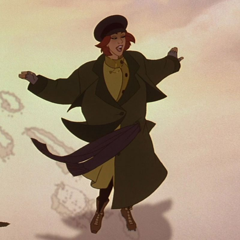 Meg Ryan as the animated character Anastasia